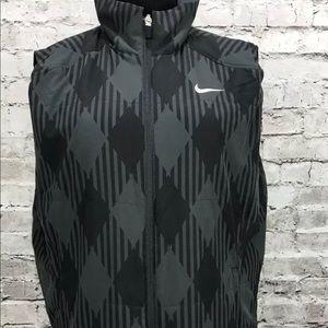 NIKE Golf diamond black gray vest XL